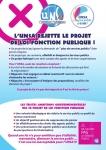 2019 03 22 UNSA rejete reforme FP 1
